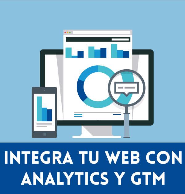 Integra analytics con Google Tag Manager en Prestashop
